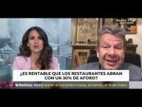"""Alberto Chicote considera """"imposible"""" llevar a cabo el plan de desescalada en la hostelería: """"Es un suicidio empresarial"""""""