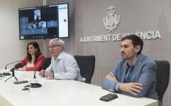 Rueda de premsa  L'alcalde, Joan Ribó, i els vicealcaldes, Sandra Gómez i Sergi Campillo, informaran als mitjans dels assumptes tractats a la Comissió de Seguiment de la crisi del coronavirus.