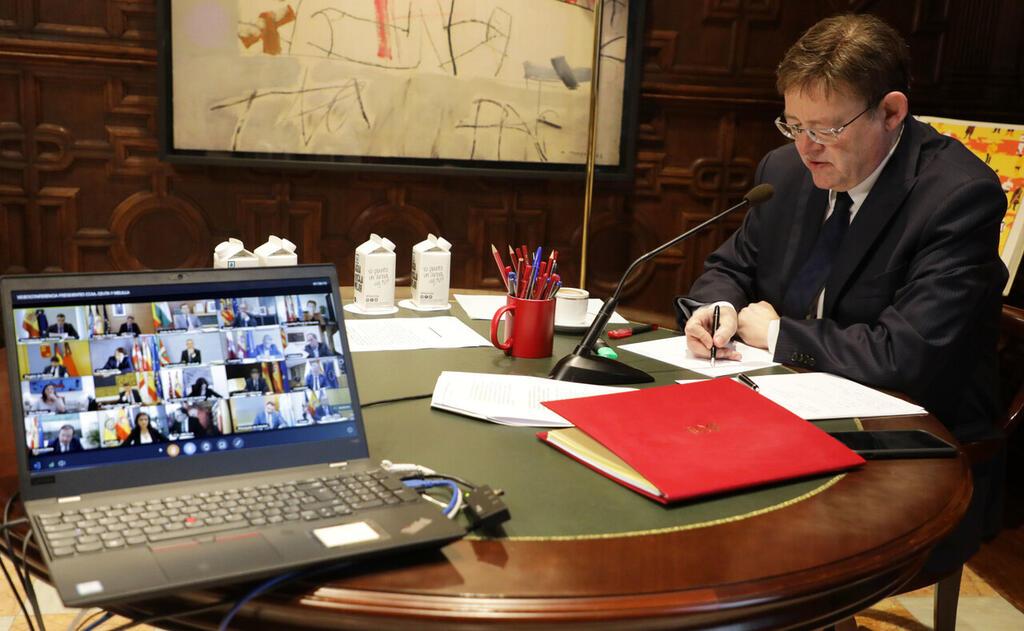 200503_FOTO_2_PRE__videoconferencia_presidentes ximo puig (1)