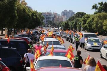 caravana de protesta VOX Valencia (1)