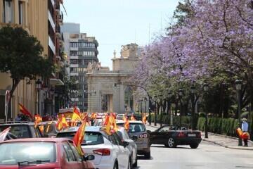 caravana de protesta VOX Valencia (3)
