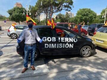 caravana de protesta VOX Valencia (5)