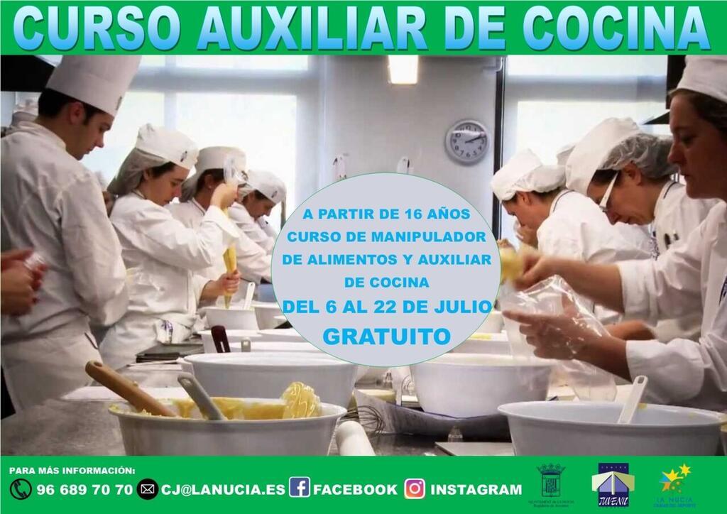 La Nucia cartel juventud curso aux cocina 2020 (1)