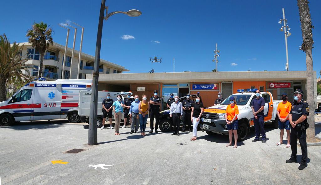 l Ayuntamiento de Alboraya presenta sus medidas de prevención para la temporada de playas